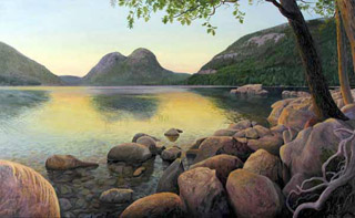 The Bubbles, Jordan Pond