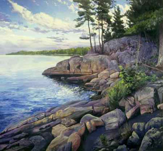 Evening, Killbear Point