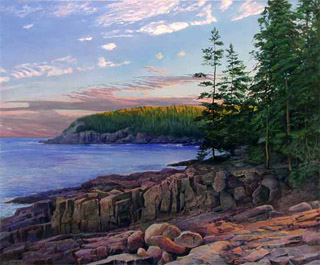 Slanting Light, Otter Point