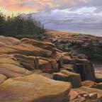 Early Morning, Maine Coast