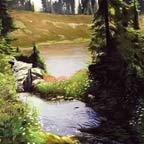 Streamlet, Mt. Baker Wilderness