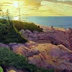 Sunrise, Otter Point