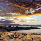 Sunrise, Schoodic Harbor
